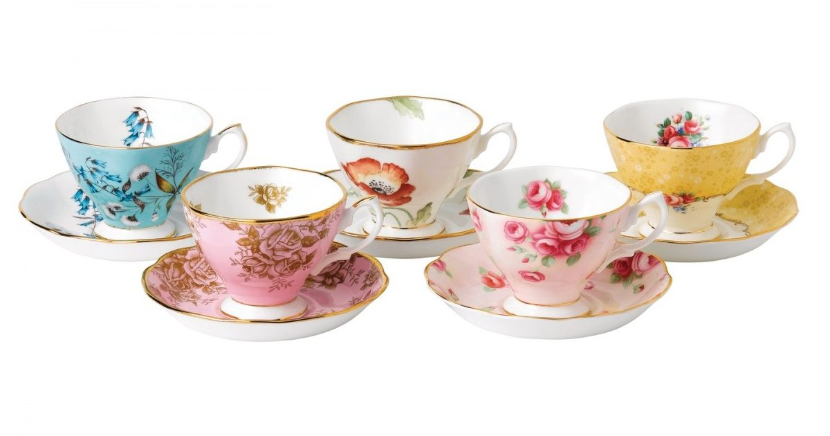 royal-albert-100-years-1950-1990-5-piece-teacup-_-saucer-set-701587269254